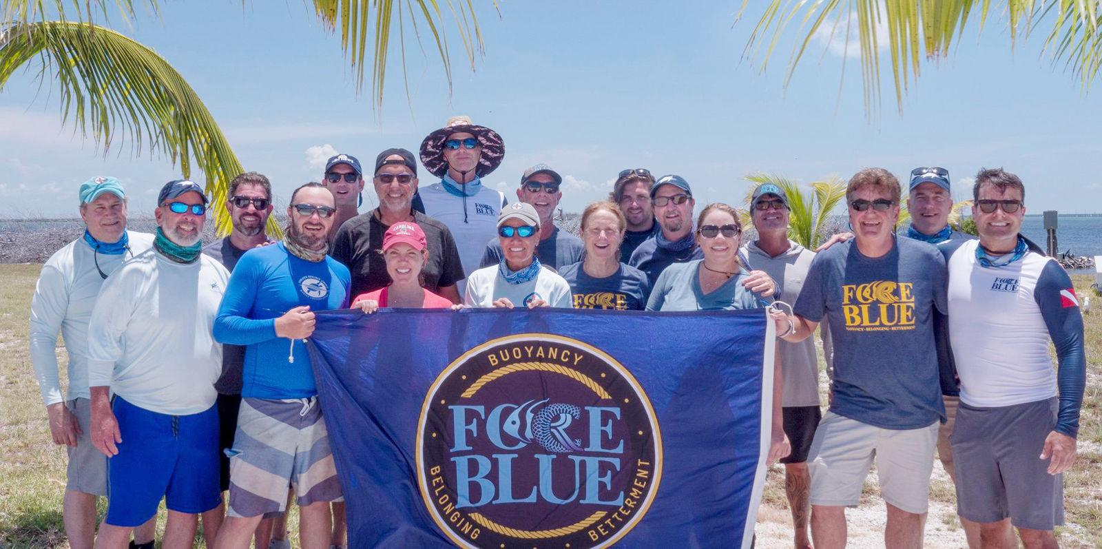 Harbor Branch Oceanographic Institute and Force Blue turtle team
