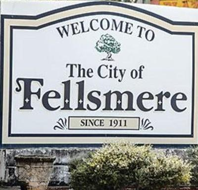 City of Fellsmere welcome sign
