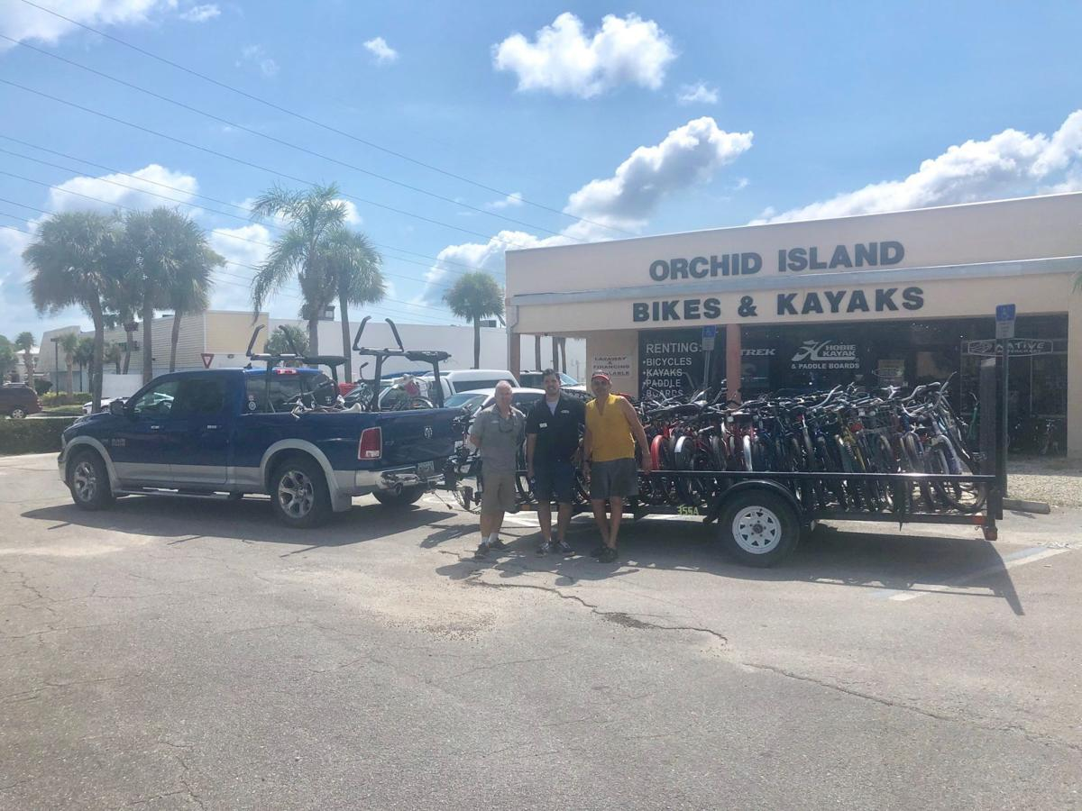 Bikes donated to Bahamas, Malcolm Allen