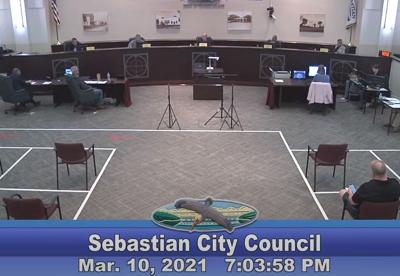 Sebastian City Council - March 2021