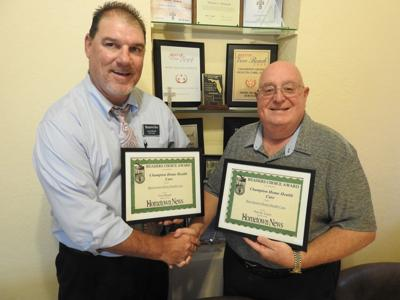 Champion Home Health Care owner Tom Michaels, Alan Nelson
