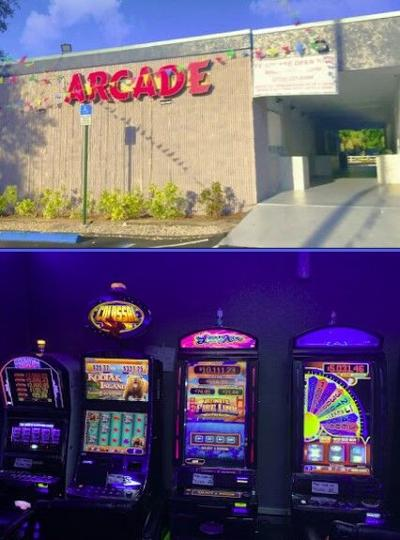 arcades - slot machines