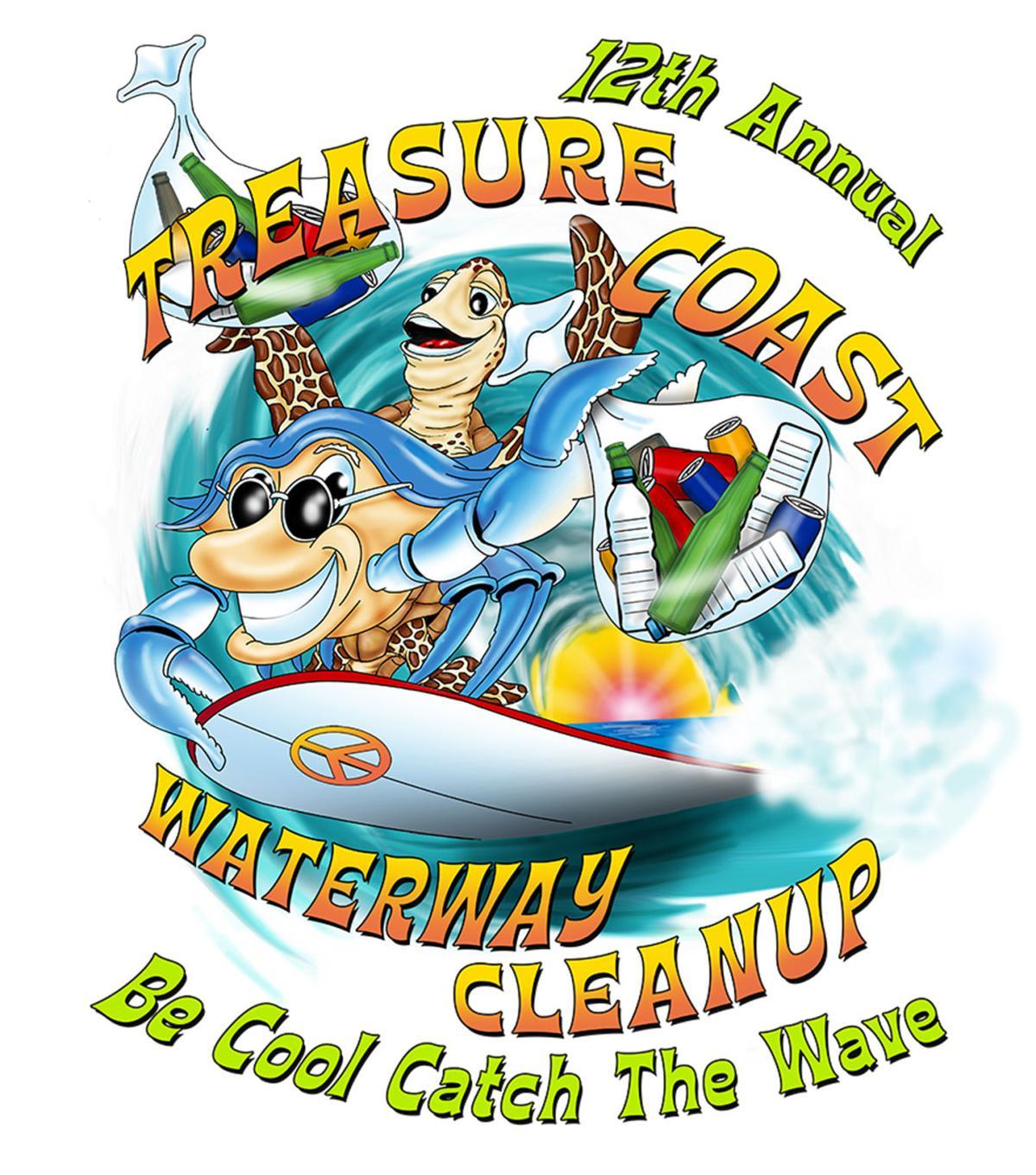 Treasure Coat Waterway Cleanup 2019 poster