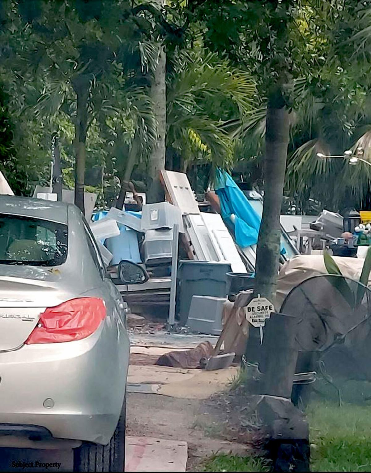 IRC junky yard at 1262 15th Ave. in Vero Beach
