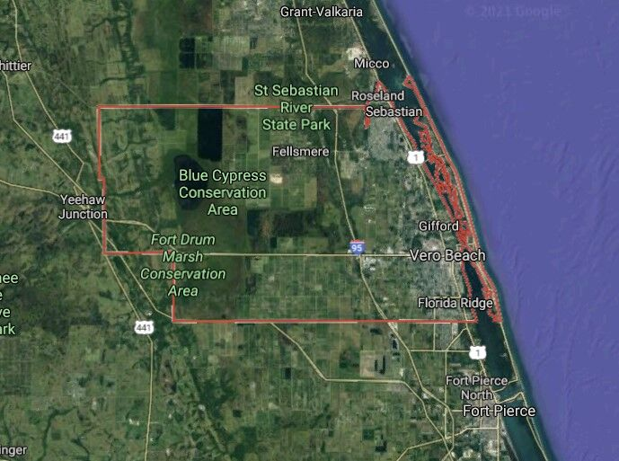 Indian River County - Google Map picture