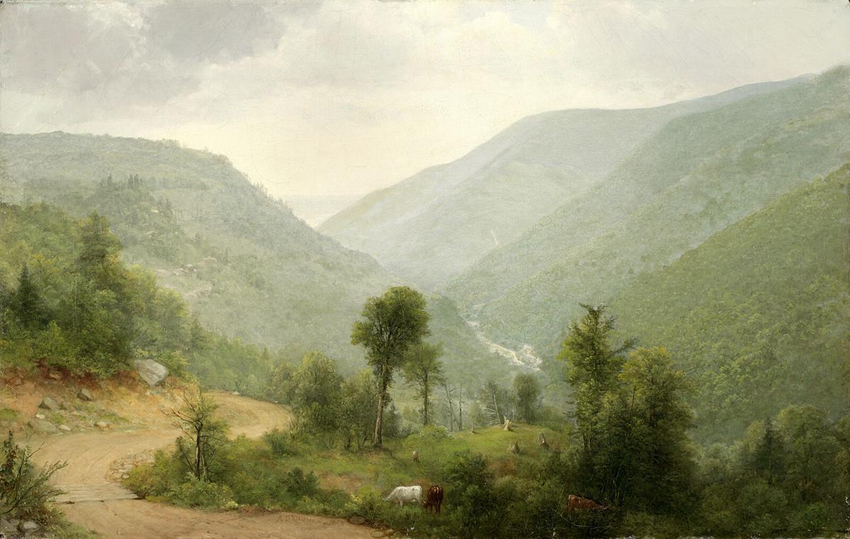 Asher B. Durand - Catskill Clove