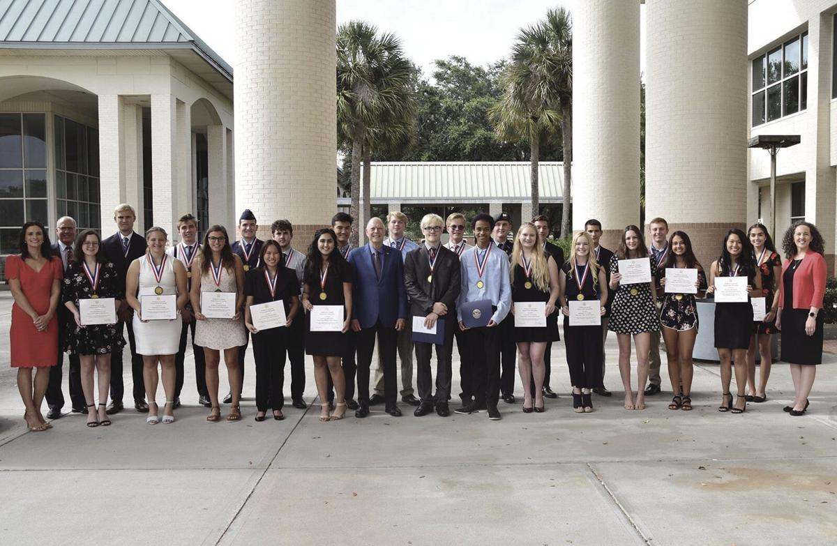 Local High School Students Earn Congressional Medal of Merit