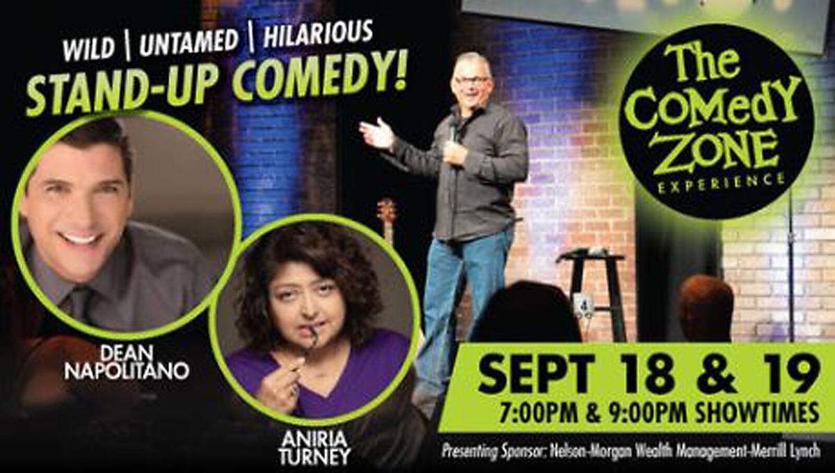 Comedy Zone stars Dean Napolitano and Aniria Turney