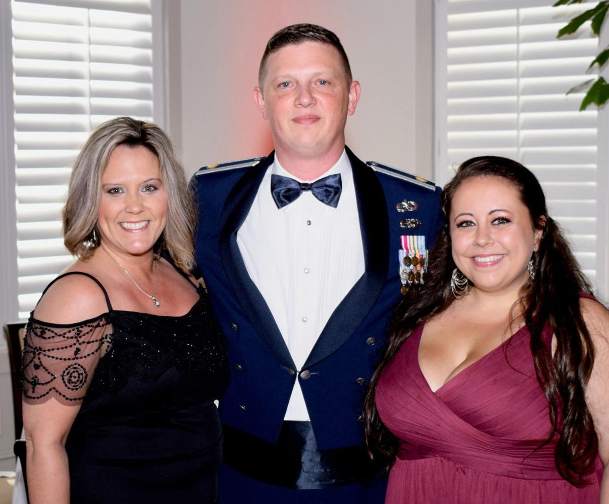 Liz Scheidel, Matthew Scheidel, and Alexandria Huff, Stars and Stripes Spectacular Gala, Grand Harbor Club House