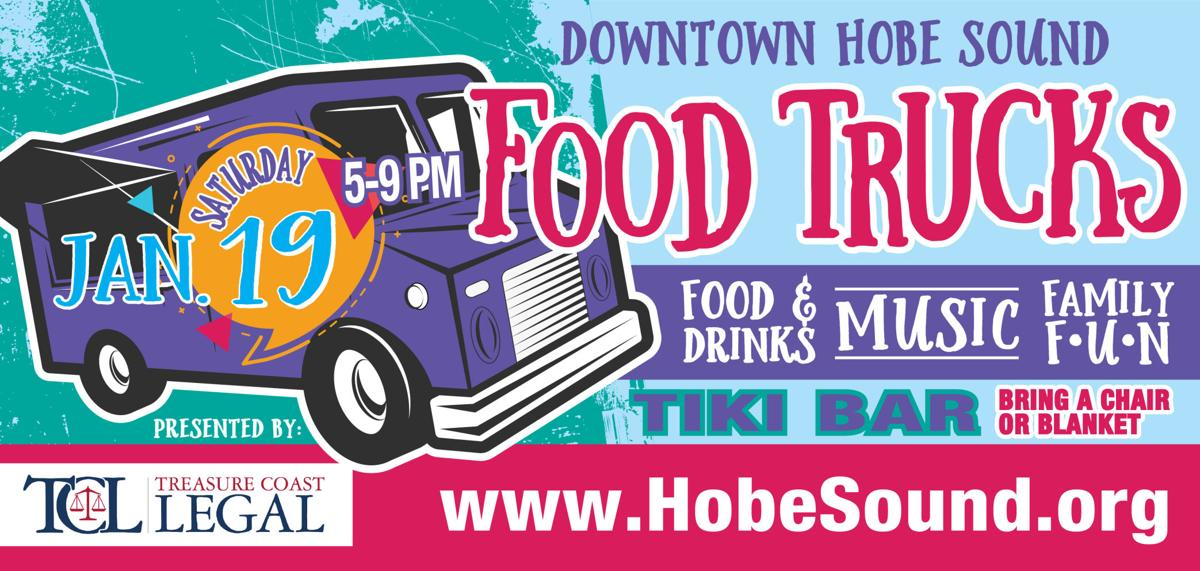 Gourmet food trucks are  heading to Hobe Sound