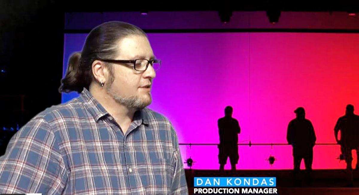 Riverside Theatre Production Manager Dan Kondas