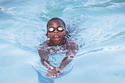 Float Hope swimmer