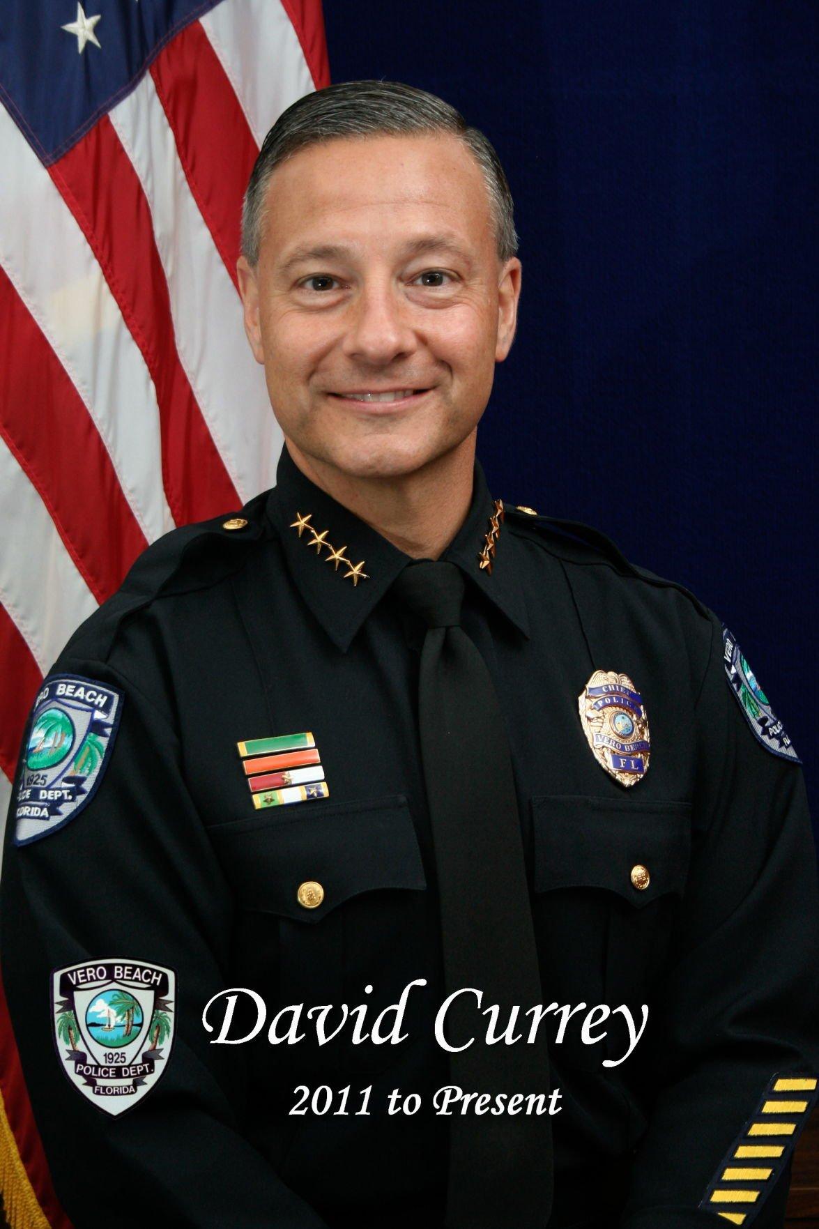 Vero Beach Police Chief David Currey