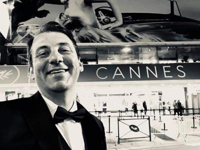 Xaque Gruber - Vero Beach filmmaker, at Cannes