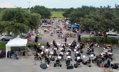 Space Coast Symphony Wind Orchestra drive-in concert