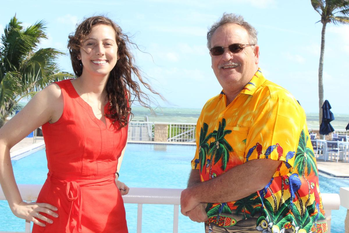 Habitat's Island Gala committee members Dave Taylor and Angie Neeley-Sardon
