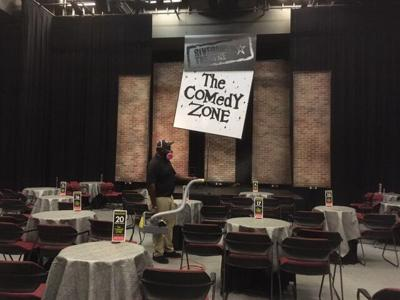 Riverside Theatre Comedy Zone COVID cleaning