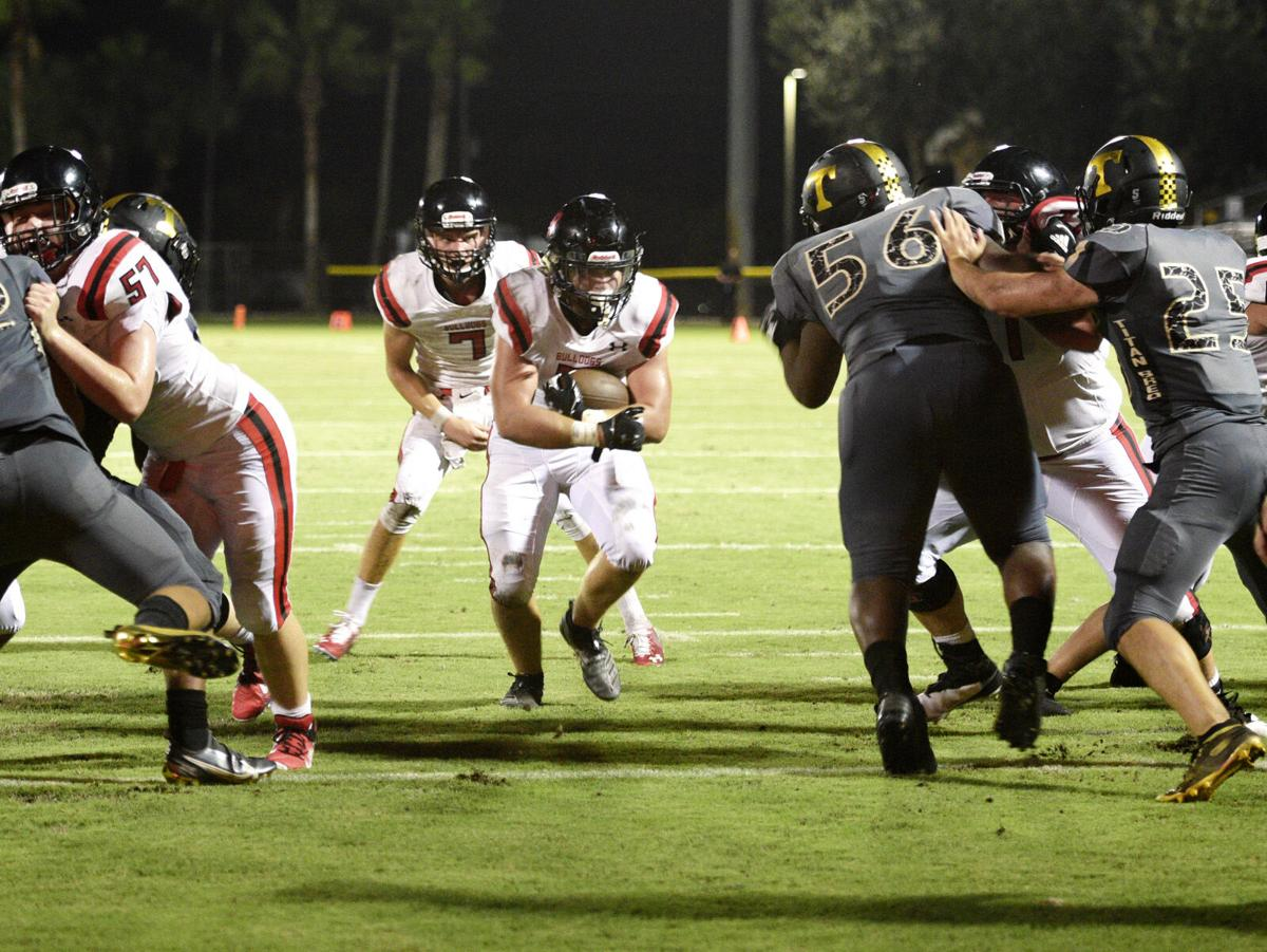 The Titans take on the Bulldogs