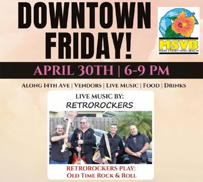 Downtown Friday - The RetroRockers - poster