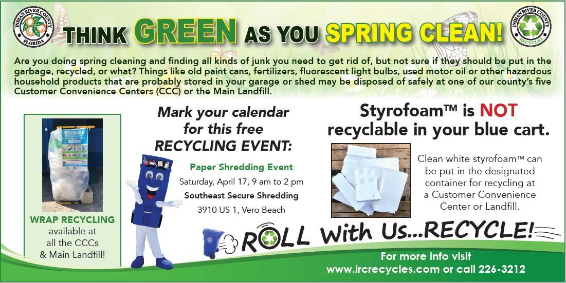 Indian River County paper shredding and recycling