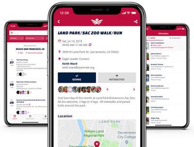 Team Red, White & Blue phone app for veterans