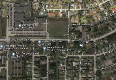 Sunglow Street and Southwest California Boulevard - Port St. Lucie