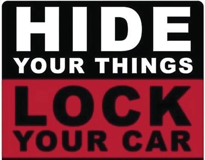 Hide Your Stuff