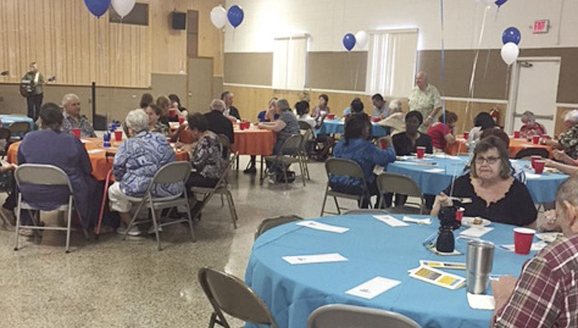 You never know whats in the pot but its always fun news senior residents of debary enjoy a potluck dinner show recently at florence k little town hall aiddatafo Choice Image