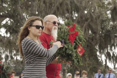 Wreaths in Volusia