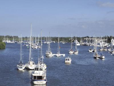 New Smyrna Beach City Officials Are Considering A Mooring Field Like This 57 Boat One In Vero