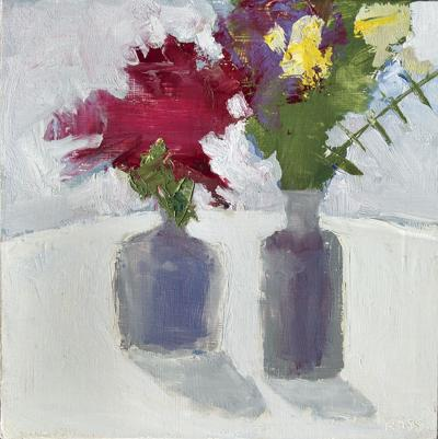 Two Bouquets by Robert Ross