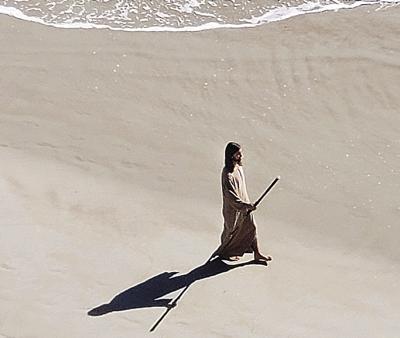 Walked on Beach