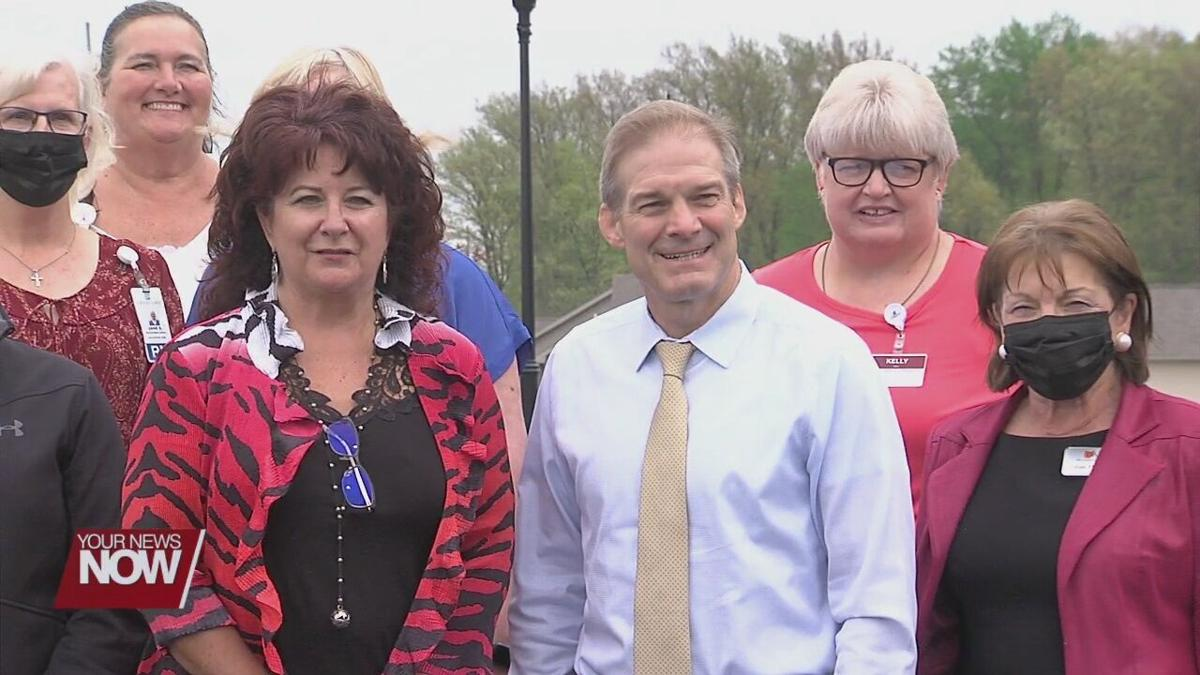 Rep. Jim Jordan stops by local assisted living facility