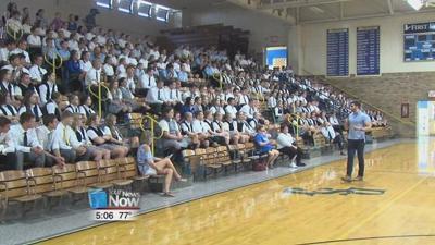 Delphos St. John's students encouraged to speak up during mental health seminar