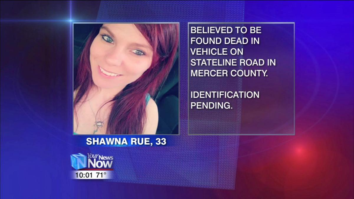 Body found in crashed vehicle believed to be Shawna Rue