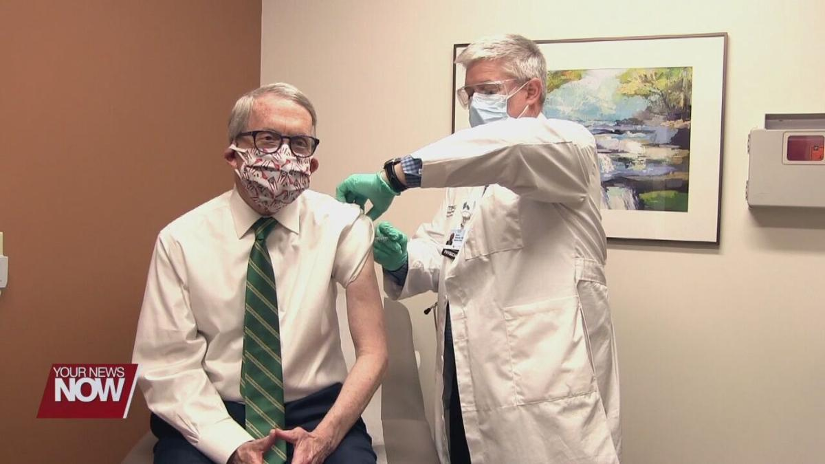 DeWine and First Lady get second dose of vaccine