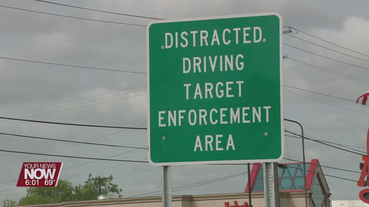 Ohio State Highway Patrol and ODOT set up distracted driving corridor on SR 309