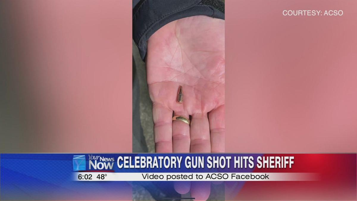 Stray bullet from New Year celebratory fire ricochets into sheriff's cruiser