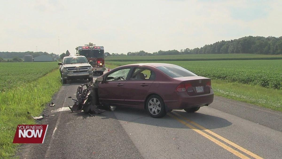 2 vehicle crash in Auglaize County
