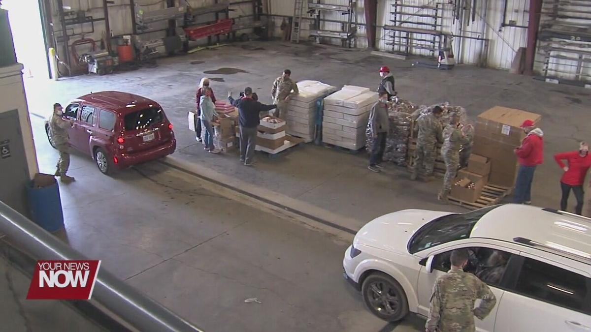 Ohio National Guard to return from food bank missions