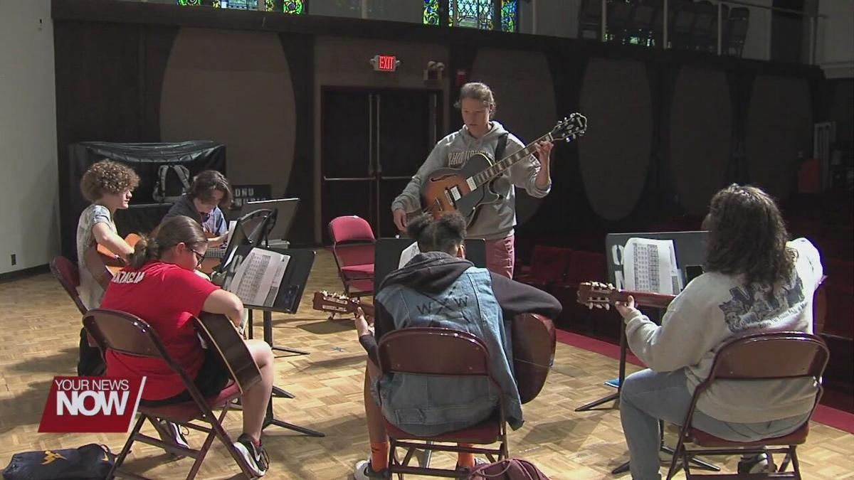 Area students get schooled on music at ONU Music Camp