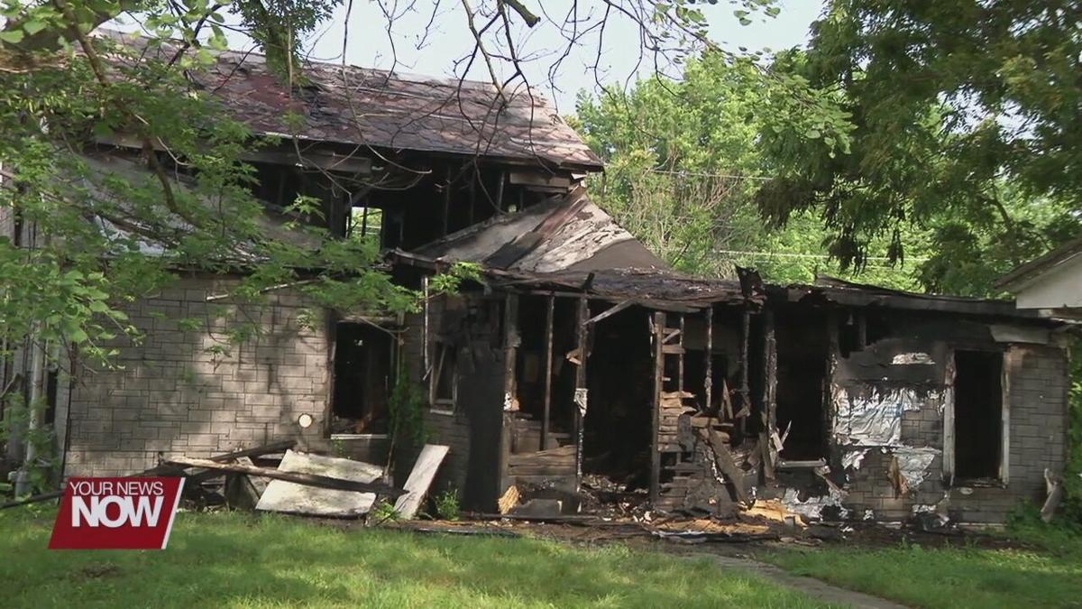 Fire causes total loss of vacant home in Lima