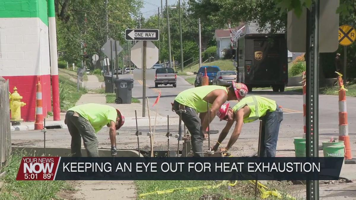 Watching for and avoiding heat exhaustion this summer