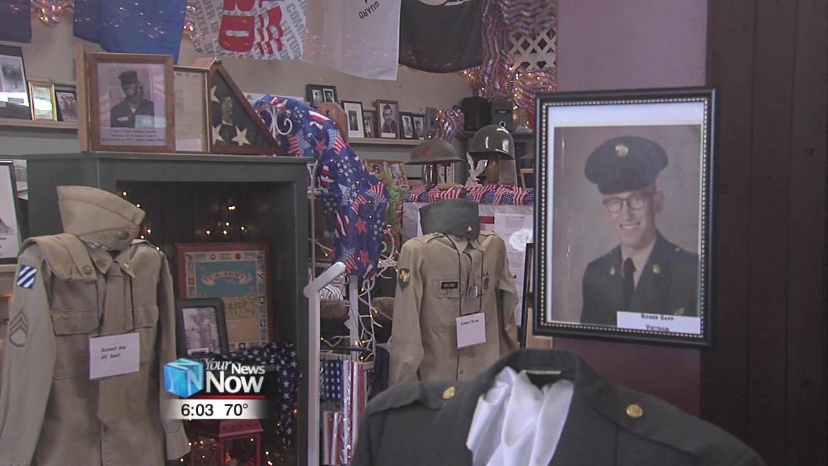 Willshire store turns into local veteran exhibit for Memorial Day weekend2.jpg