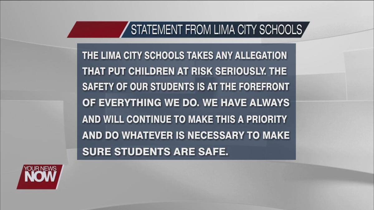 A former Lima City School teacher is charged with sexual contact with student