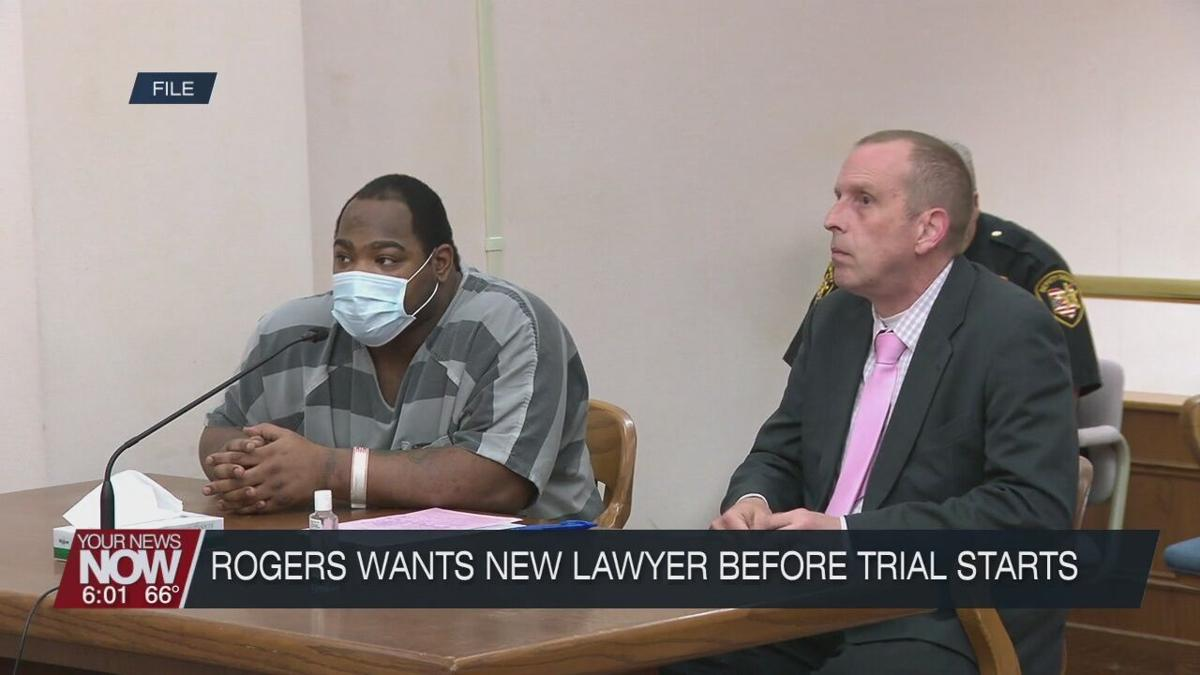 Rogers decides he wants new lawyer just before trial was to begin