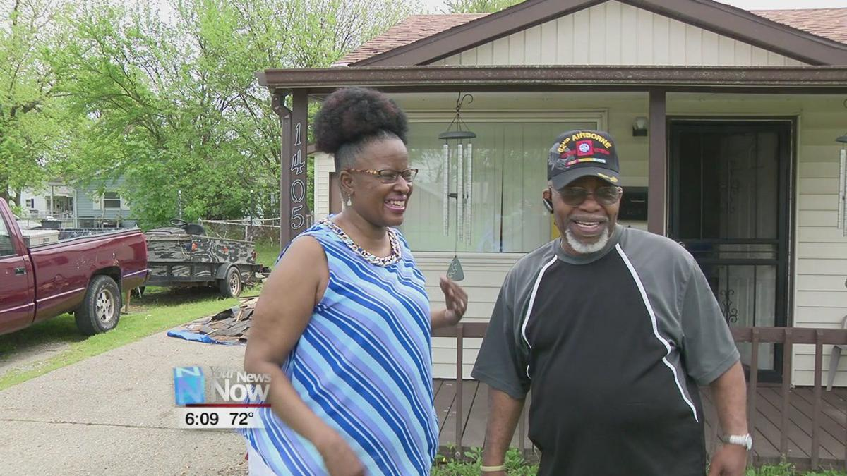 Veteran and wife receive new roof during Adopt a House program