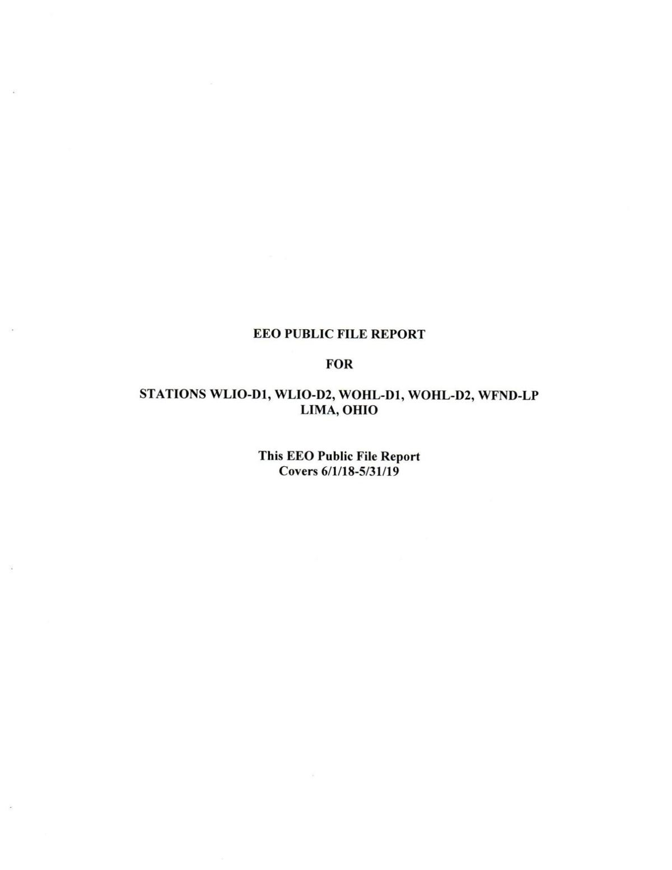 EEO Public File Report 2018-2019