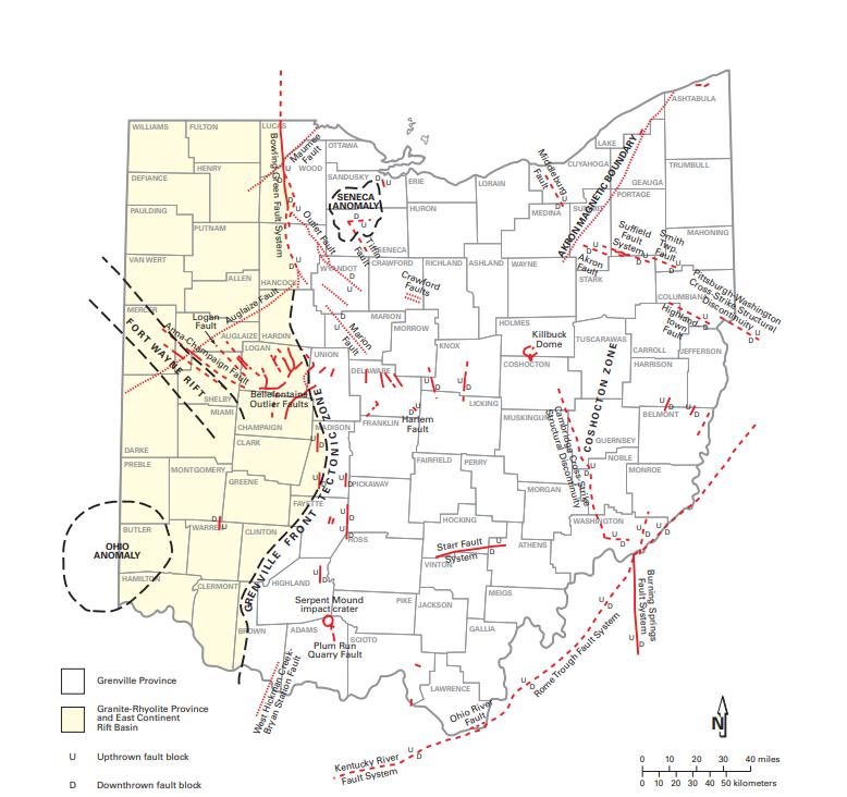 Ohio Fault Lines