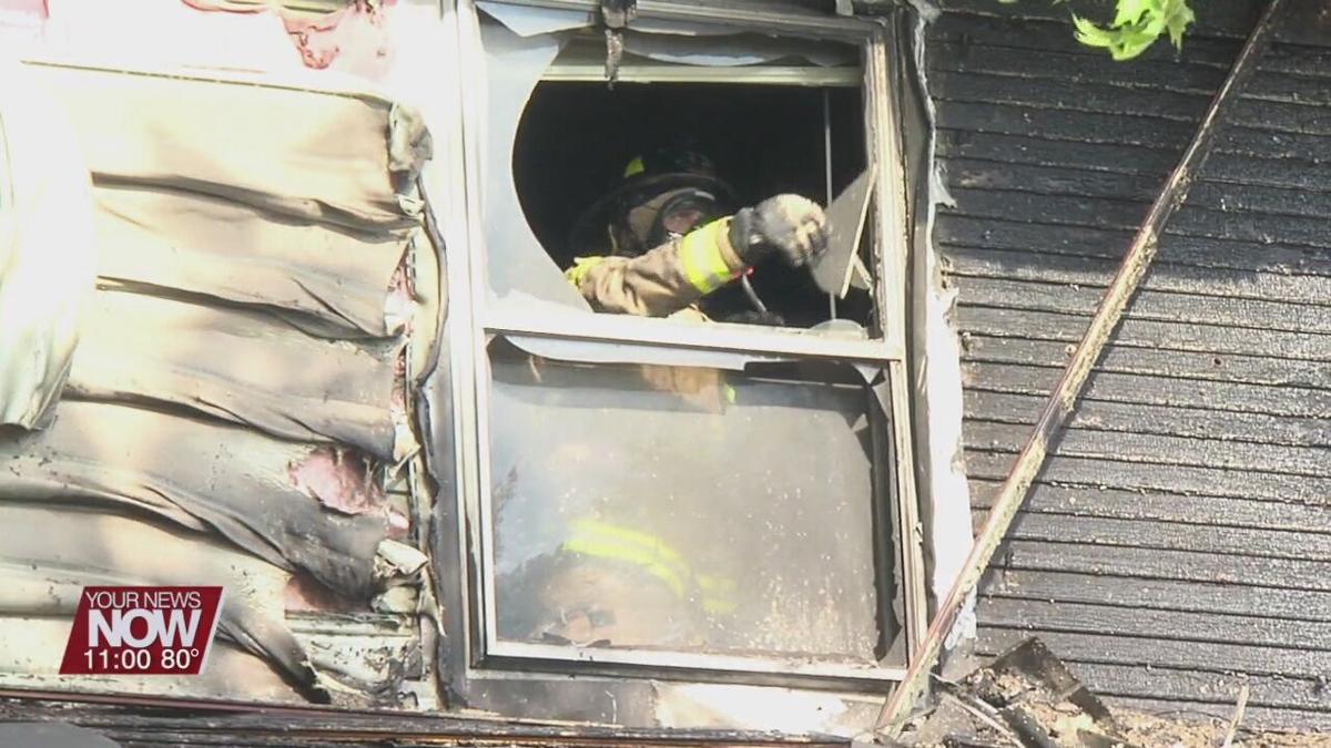Lima dental office damaged during fire